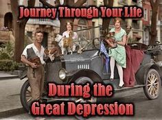 """This Great Depression PowerPoint Simulation is my NEW favorite lesson and my most CREATIVE so far. This lecture is both informative and interactive as students choose their fate throughout the Great Depression simulation and record their """"experiences"""" on their Travel Log."""
