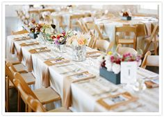 gold napkins and gold painted striped burlap