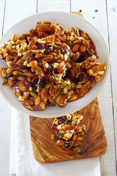 Musician's Brittle ..mixed nuts and dried fruits../ Patty's Food
