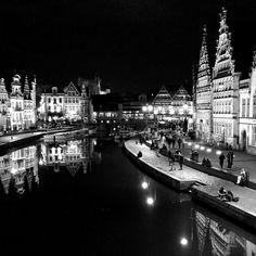 by different_and_same: #gent #ghent #architecture #arkitektur #bnw #blackandwhite #visitflanders #visitgent #igers #travelgram #belgium #archilovers #bnw_europe #ig_europe