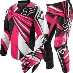 Pink Fox Riding Gear.... This is a must have for that pink rzr!