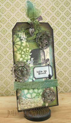 Create With Me: Tim Holtz 12 Tags of 2016 - May