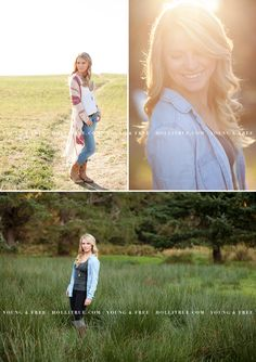 Sunset Oregon Senior Pictures by Eugene Senior Photographer, Holli True, on the beach and in the country with Whitney