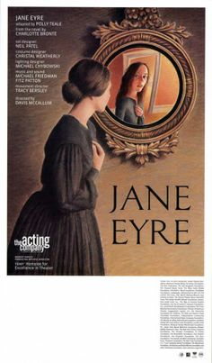 Broadway Posters, Broadway Theatre, Movie Posters, Classic Literature, Classic Books, Jane Eyre 2006, Charlotte Brontë, Bronte Sisters, Theatre Plays