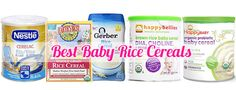Happy Baby Organic Rice Cereal Ingredients 5 Best Baby Rice