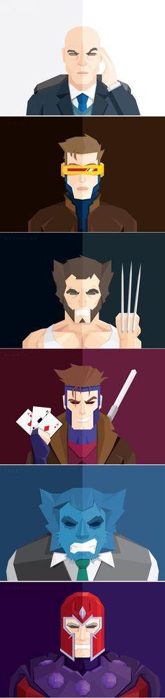 Fred Birchal's X-Men Art- Gambit the best X-MEN ever!!!