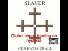 Slayer - Disciple. Thanks for everything Jeff Hanneman!