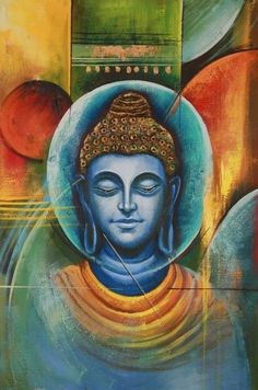 Buddha And Peace Handpainted Art Painting In X In - Buddha And Peace Handpainted Art Painting In X In March Buy Buddha And Peace By Community Artists Group Rs Shop Art Paintings Online In India Budha Painting Buddha Buddhism Bud Budha Painting, Krishna Painting, Krishna Art, Buddha Peace, Buddha Buddhism, Buddhist Art, Buddha Artwork, Indian Art Paintings, Online Painting
