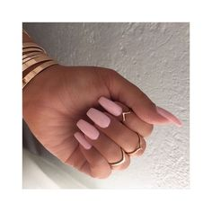 Stiletto Nails ❤ liked on Polyvore featuring beauty products, nail care and nails