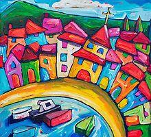 La Costa Brava,Spain by ART PRINTS ONLINE         by artist SARA  CATENA