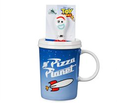 Pizza Planet Mug and Forky Spoon Set - Toy Story 4