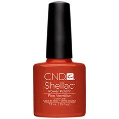 CND Shellac Nail Polish Fine Vermilion 011 lb * You can find out more details at the link of the image.