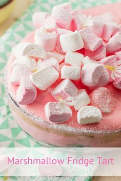 South African Marshmallow Fridge Tart Recipe. Take your family down memory lane to the sweet 70s where layers of crushed biscuit, fruit, jelly, cream and marshmallows await. It's delightfully decadent.