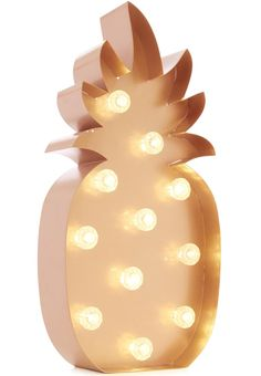 Pineapples are really having a moment right now, and this copper-toned light up one from Primark would look super cool on display at a retro or tropical themed wedding. You can repurpose it in your home after the big day, too!