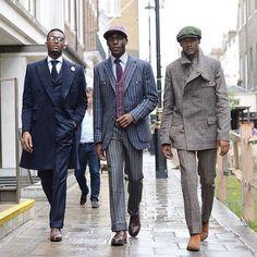 Savile Row street style by David Nyanzi (@davidnyanzi) || MNSWR style inspiration || www.MNSWR.com