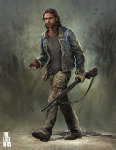 Tommy : The Last of Us, Hyoung Nam on ArtStation at https://www.artstation.com/artwork/XaxL