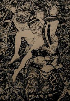 Expresionismo Erogeno Dark Gothic, Disney Films, Memento Mori, Dark Horse, Erotic Art, Figurative Art, Occult, Dark Art, Japanese Art