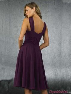 Short Chiffon Homecoming Dress Under 100
