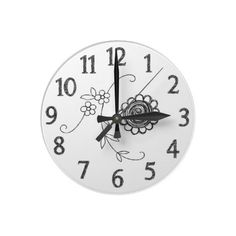 Doodle Clock