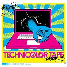 DJ Woody - Turntables In Technicolor | Vol. 1 und 2 - Disco und Ghetto Funk ( Free Mixtape Download )