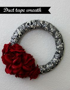 DIY: Duct Tape Wreat