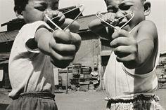 Nobuyoshi Araki, Satchin and his brother Mabo, 1963
