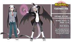 [BNHA] My main hero: Tsugihagi Oka by Kiiryuin Boku No Academia, My Hero Academia 2, Hero Academia Characters, Fantasy Characters, My Character, Character Concept, Attack On Titan, Writing Fantasy, Superhero Characters
