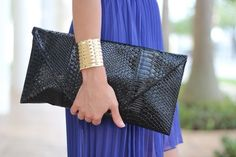 Love the oversized clutch