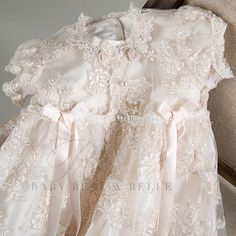 Couture Baptism Dresses | Home > Heirloom Christening Gowns > Penelope Christening >
