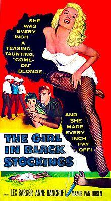 The Girl in Black Stockings (1957 film)