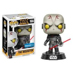 Funko The Inquisitor, Star Wars, Guerra nas Estrelas, Rebels, Walmart Exclusive, Funkomania, Inquisidor, Cartoon