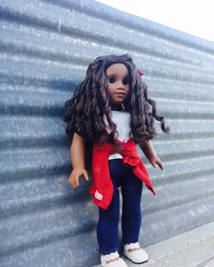 """""""Imagination is the only weapon in the war against reality """" #americangirldoll #goty2017 #gabrielamcbride"""