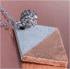 Basteln macht glücklich!: Schmuck aus Beton - Betonschmuck - Schmuckbeton