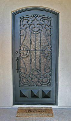 Granada Iron Entry Doors #Firstimpression