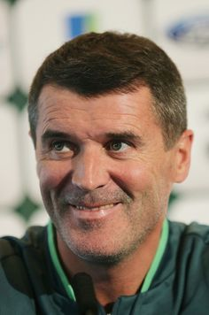 Roy Keane Photos - Assistant manager Roy Keane speaks at a press conference at Gannon Park on November 2013 in Dublin, Ireland. Roy Keane, Assistant Manager, Republic Of Ireland, November 13, Conference