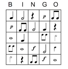 Music is Elementary: Music Notation BingoYou can find Elementary music and more on our website.Music is Elementary: Music Notation Bingo Elementary Music Lessons, Music Lessons For Kids, Music Lesson Plans, Music For Kids, Elementary Schools, Music Activities For Kids, Music Education Games, Teaching Music, Physical Education