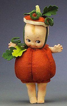 R. John Wright Kewpie® Pumpkin*