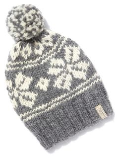 e84c6525ca0 Fair Isle Hat by GANT Rugger at Gilt