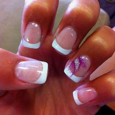 Romulus prom. Acrylic nails