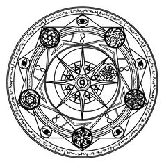 just another magic circle symmetry is just amazing. inspired by 's magic circles lol another magic circle