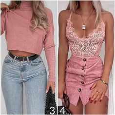 😍🌸 Denim Skirt, What To Wear, Cool Style, Bodycon Dress, Lady, Pretty, Casual, Skirts, Fashion Trends