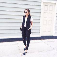Shop the 25 Best Office-Ready Outfits of Instagram This Week via @WhoWhatWear