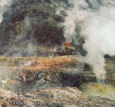 Volcan La Solfatara (Italie)