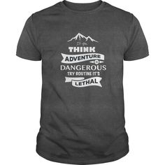 Choose adventure instead of routine! So show off your love for adventure with this premium shirt. Brought to you by the ActiveWeekender.com team.