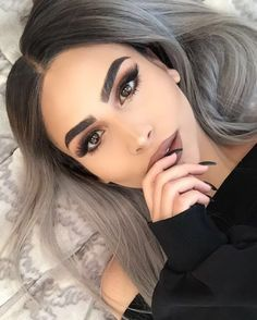 Best Eyebrow Trends To Upgrade Your Brow Game # Augenbrauen warmtonessmokey Eyes Haare Hair Inspo, Hair Inspiration, Cabelo Inspo, Eyebrow Trends, Best Eyebrow Products, Hair Products, Beauty Products, Balayage Hair, Gray Balayage