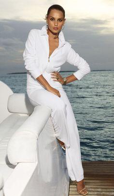 Catrinel Menghia...how to look like a million bucks in sweats...