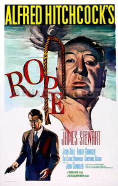 """Rope"" Alfred Hitchcock 1948 Movie, awesome movie.All done with master shots, no cut aways or B role. Only 4 edits."
