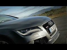 Audi RS7 Sportback driving video with engine sound