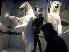 Bergdorf's NYC 2009 Daenerys Targaryen, Game Of Thrones Characters, Shops, Window, Nyc, Horses, Display, Fictional Characters, Animals
