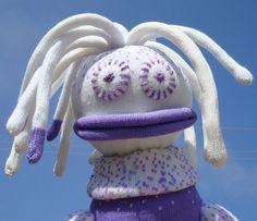 Selvage Blog: Cute Sock Monsters